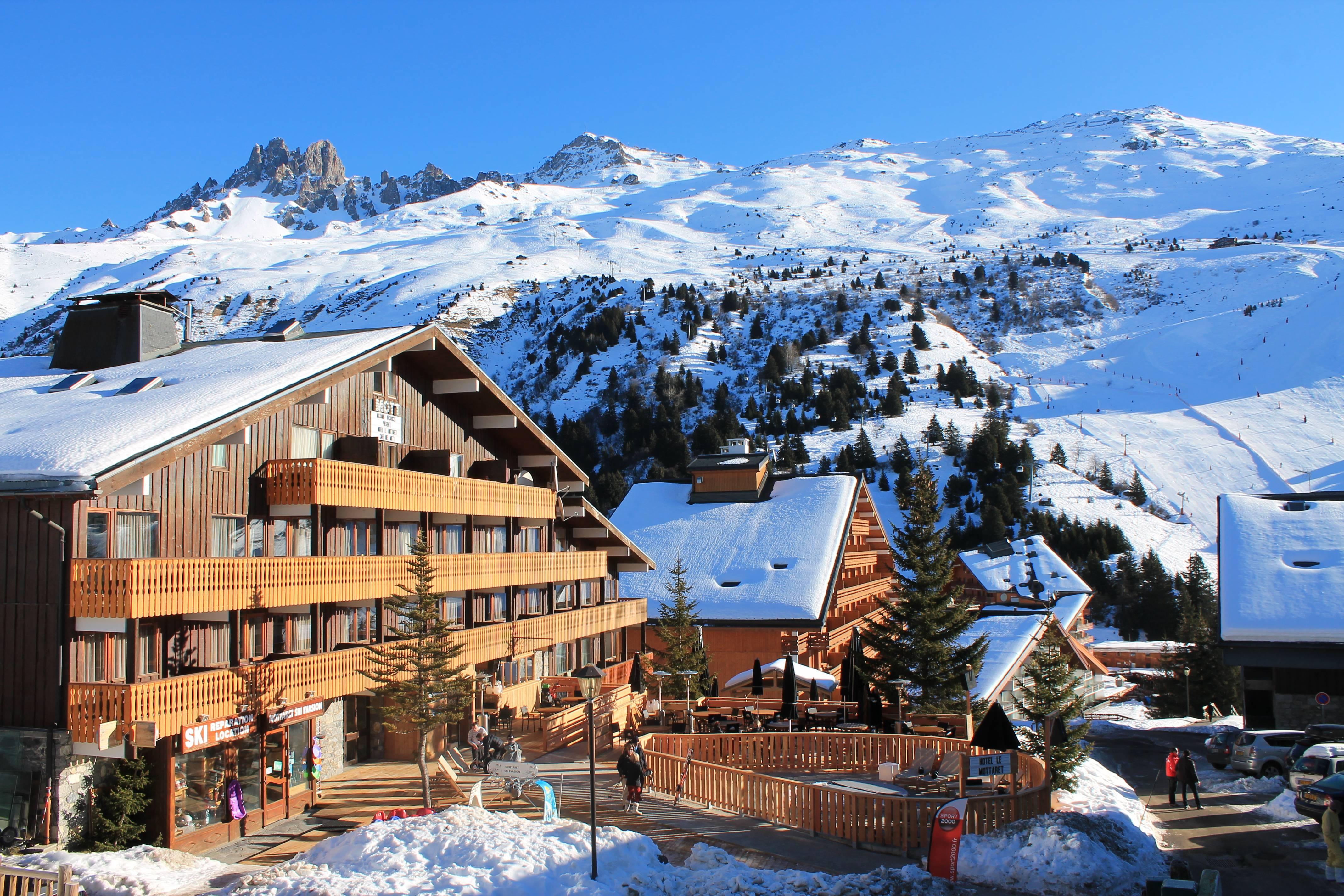 3 Hotel Le Mottaret Ski Hotel In Meribel Mottaret Flexiski